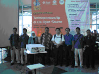 Seminar Technopreneurship di Era Open Source 1