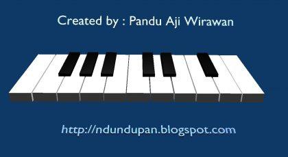 Aplikasi Piano dengan Blender 3