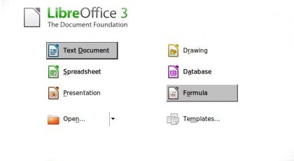 "LibreOffice: The Application cannot be started. [context=""user'] Caught Unexpected Exception! 5"