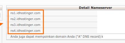 Mengarahkan Nameserver Domain untuk Membuat Email dengan Custom Domain Blogger dan Google Apps 3