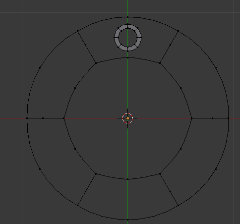 hapus vertex circle besar
