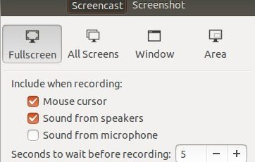 Kazam : Software Recording Video di Ubuntu 6