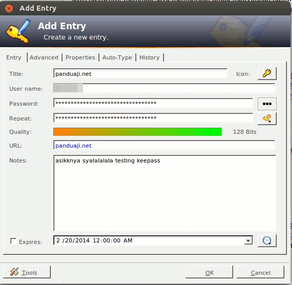 Simpan Password dengan KeePass 5