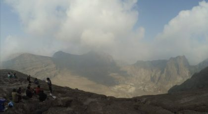 Pendakian Pertama di Gunung Kelud 2