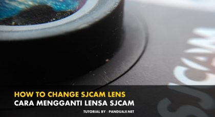 Video Tutorial Cara Mengganti Lensa SJCAM 6
