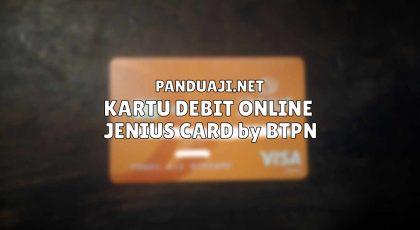 Jenius Card, Kartu Debit Online Pengganti Kartu Kredit 5