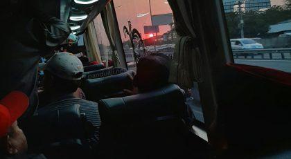 Mencoba Naik Bis Bagong Surabaya Blitar via Tol 3